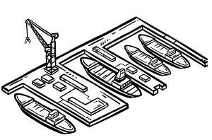 Shipyard Scribble